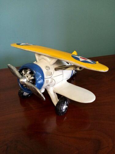 Ceramic Classic Bi-Plane Piggy Bank