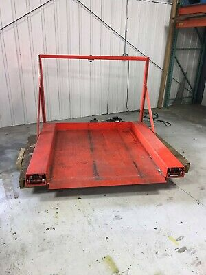 Floor Level Low-profile Zero Pallet Jack Scissor Lift 39 Rise 60 Long