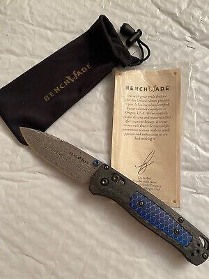 Benchmade Gold Class Bugout 535-191 Pocket Knife edc tool griptilian demascus