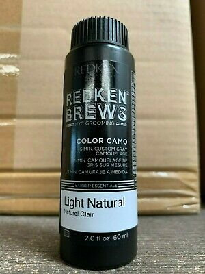 Redken Brews 5 Minute Color Camo LIGHT NATURAL 2oz - FAST FREE -