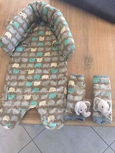 Baby head support & seat belt covers Condell Park Bankstown Area Preview