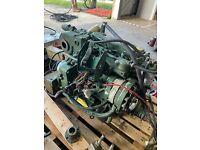 Volvo Penta 2003T , 2000 Series 42 HP Marine Diesel engine with Transmission