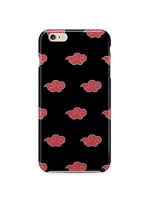 Naruto Akatsuki Cloud Iphone 4s 5s 5c 6S 7 8 X XS Max XR Plus Case Cover SE 1 ()