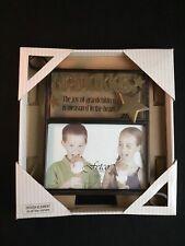 "Fetco Home Decor 6x4 ""Joy of Grandchildren"" Metal & Glass ..."