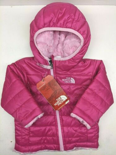 The North Face Infants REVERSIBLE Mossbud Swirl Jacket 3-6 months NEW WITH TAGS
