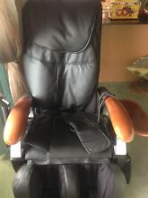 Massage chair - Leather massage chair with remote & mini table Bankstown Bankstown Area Preview