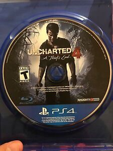 Uncharted 4 and Infamous Second Son for sale.