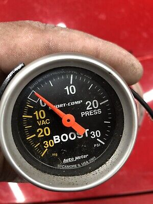 Autometer 4303 Ultra-Lite Vacuum/Boost Gauge 2-1/16 in., Mechanical