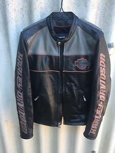 Harley Davidson Leather Jacket Rossmoyne Canning Area Preview