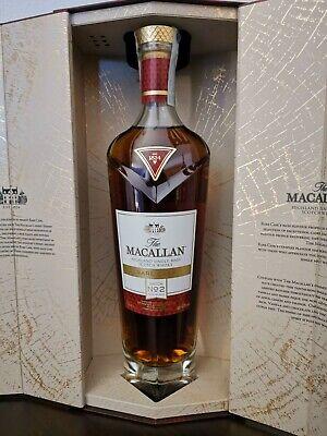 SCOTCH WHISKY THE MACALLAN RARE CASK BATCH 2 CL70 VOL.43%