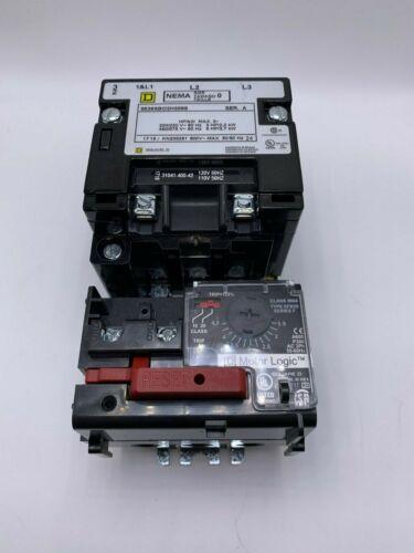 NEW Square D 8536SBO2H308S Motor Starter Nema 0 Solid State Overload 9065-SFB20