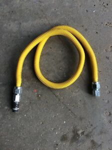 Natural gas flex pipe.