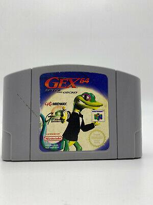 Gex 64: Enter the Gecko (Nintendo 64) PAL N64 Fast Shipping