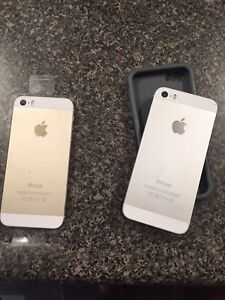 Silver and Gold iPhone 5s
