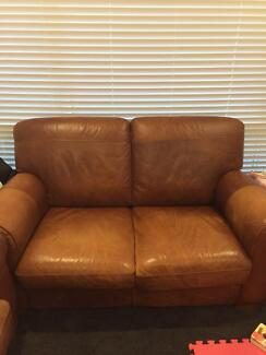 Leather 2 Seater Dingley Village Kingston Area Preview