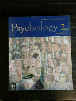 Psychology 2nd Australian & New Zealand Edition