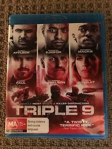 Triple 9 Blu Ray The Junction Newcastle Area Preview