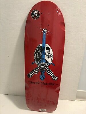 Powell Peralta Ray Rodriguez! Skateboard Deck! New! Santa Cruz! BLEM! Red Skull!