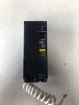 Square D Qob220gfi 2p 20a 120240v New Ground Fault Breaker No Box New Pullout