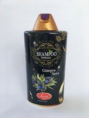 500 ml Shampoo Haarshampoo mit schwarzem Wacholder 0% Parabene Silikone (Schwarze Haare, Shampoo)