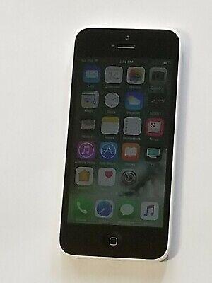 Apple Iphone 5C 8GB Verizon Unlocked Smartphone White