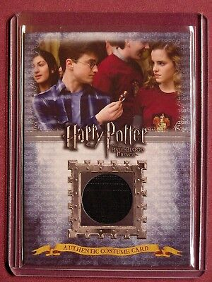 Harry Potter-HBP-Authentic-Movie-Costume Card-Daniel Radcliffe-Harry Potter-C9