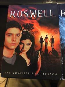 Roswell Season 1 and 2 DVD set. $10