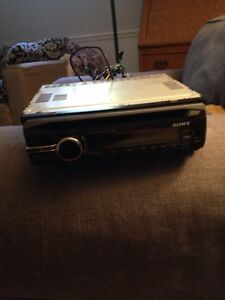 Sony CD player, USB and aux headunit