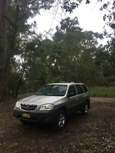 backpacker 2004 Mazda Tribute 4x4 4d Wagon 5 MONTHS REGO