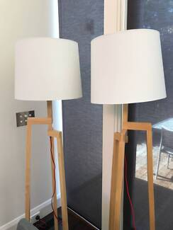 Contemporary floor lamps