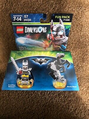 LEGO: DIMENSIONS: Excalibur Batman Fun Pack Free Shipping