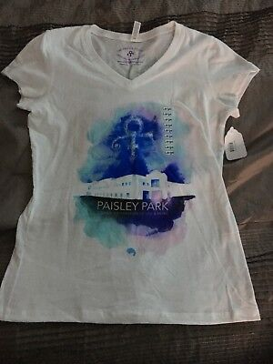 Authentic Prince Paisley Park Tee, L, Womens
