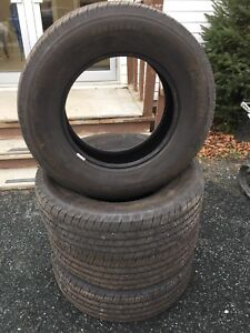 4 245/70R17 michelin ltx ms2