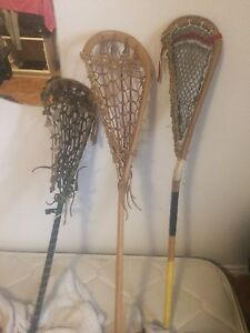 Traditional lacrosse stick