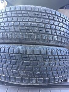 2-225/60R17 Bridgestone Blizzak winter tires