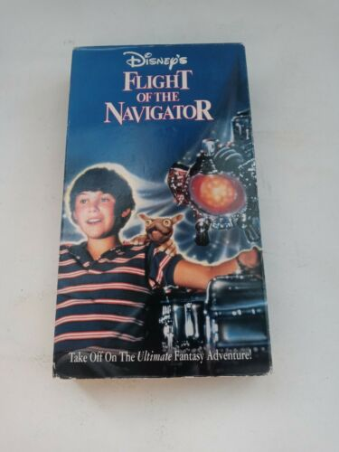 Disney s Flight Of The Navigator VHS, 1997  - $7.50