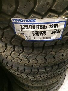 LT 225 70 r19.5 Toyo M608.   (Brand new) (4 tires only)