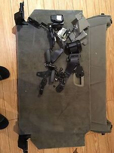 Volvo 2000-2004 third row seat and accessories