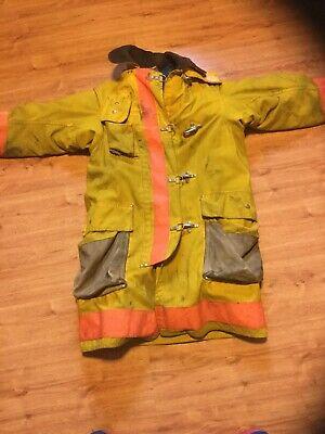 Janesville Apparel Firefighter Coat Wliner Sz 404032