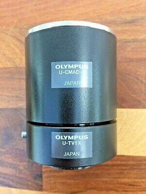 Olympus Microscope U-cmad-2 U-tv1x Camera Photo Tube Adapter C-mount Bx51 Ix71