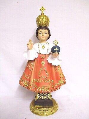 Prague Jesus Child Infant Jesus 40 cm Poly Figurine Church Karmelitenkloster