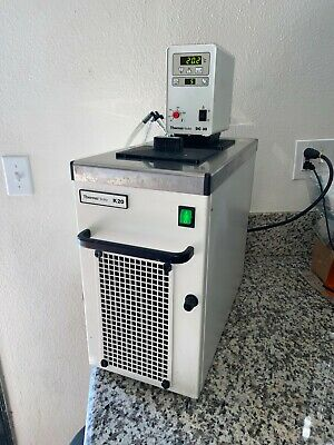 Thermo Haake K20 Dc30 Refrigerated Heated Water Bath Digital Circulator Chiller