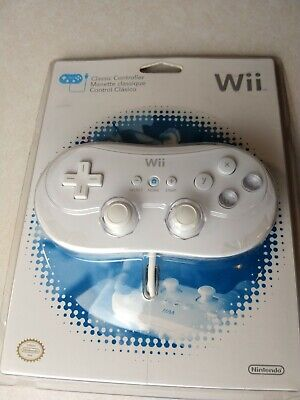 Nintendo Wii Classic Controller - Brand New & Factory Sealed. 083
