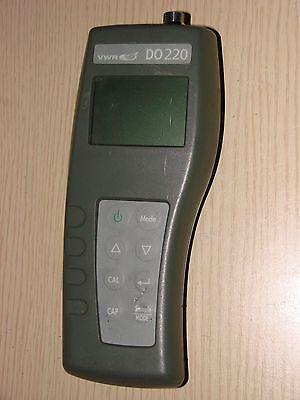 Vwr Ysi Ecosense Do 220 Handheld Dissolved Oxygen Meter Wo Sensor