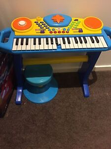Keyboard with stool Canberra City North Canberra Preview