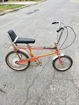 Vintage Bicycle Parts - Raleigh Chopper - Trainers4Me