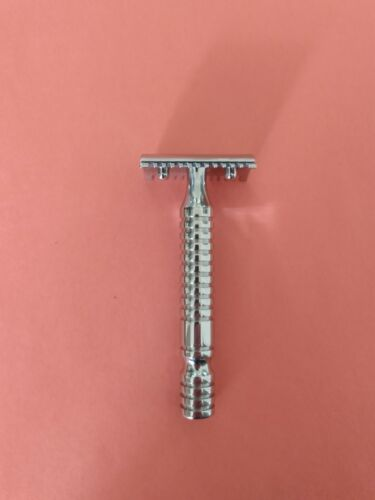 RazoRock OLD TYPE Open Comb Double Edge Safety Razor with HALO 316L SS Handle