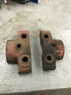 Sparta Economy 2hp Bearing Caps Antique Hit And Miss Gas Engine
