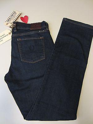 Lucky Brand Ws 8/29 R Sofia Super Stretch Straight Jean 7WD1745 Dk Blue $119 NWT