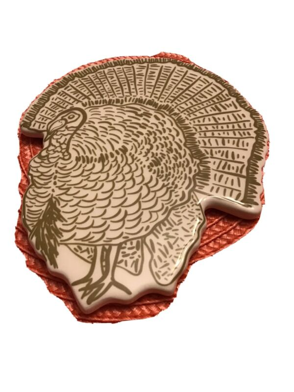 Happy Everything Coton Colors Thanksgiving Turkey Mini Attachment.. New